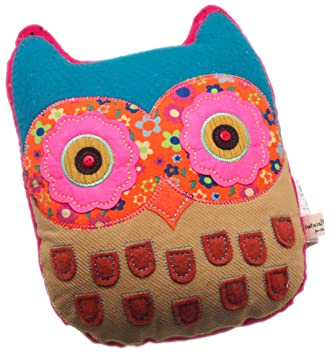 Let It Be 100% Cotton Owl Pillow
