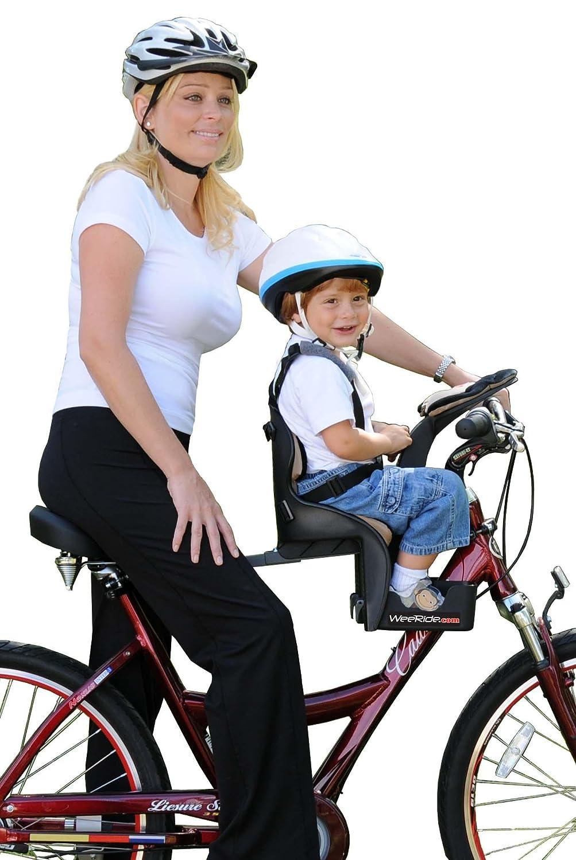 Silla delantera de bicicletas para llevar a los nios