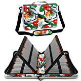 Shulaner Colored Pencil Case Organizer Nylon Canvas Large Capacity Portable Pencil Bag (160-Bird) (Color: 160 - Bird, Tamaño: 160)