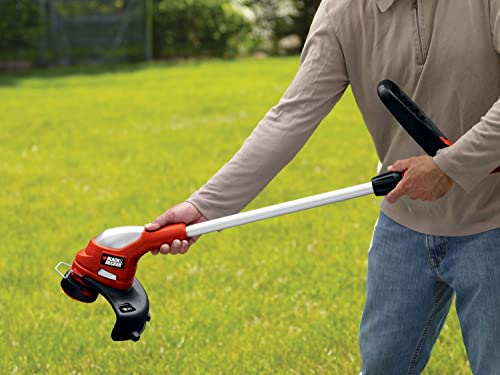 Black & Decker LST220 12-Inch 20-Volt Lithium-Ion Cordless GrassHog Trimmer/Edger
