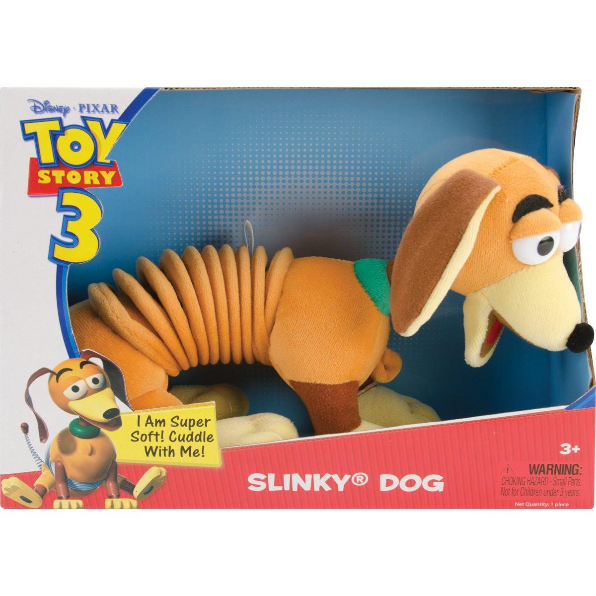 Soft Stuffed Animal Slinky Dog from Pixar's Toy Story