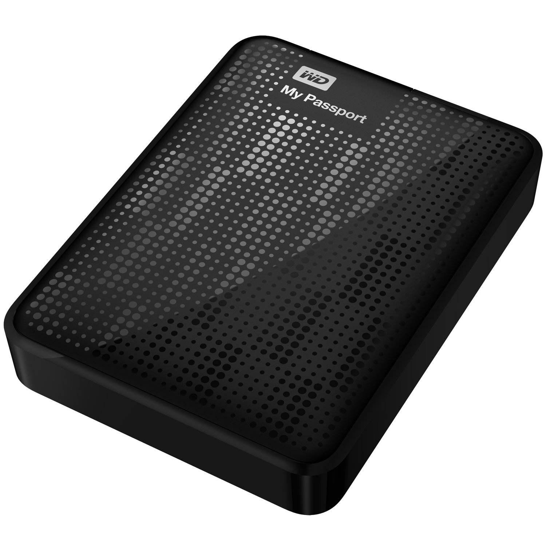 wd my passport 2tb portable external hard drive storage. Black Bedroom Furniture Sets. Home Design Ideas