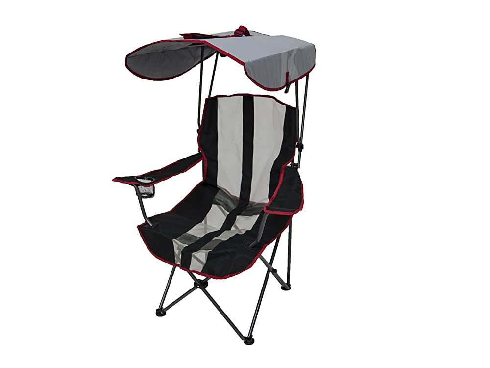 Beach chair umbrella folding lounge outdoor camping patio for Lawn chair with umbrella