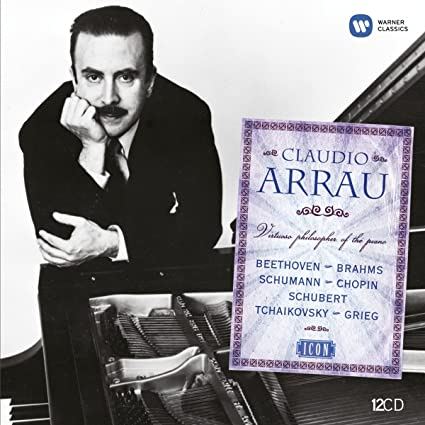 Icon: Claudio Arrau-Virtuoso Philosopher of the Pi
