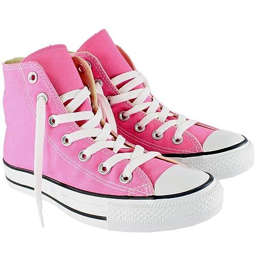 womens pink converse