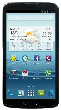 MEDIACOM PHONEPAD DUO S650 DUAL SIM 6.5 HD 16GB ANDROID 4.2 ITALIA CARBON (inclusa flip a quaderno protettiva + guscio)