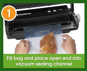 vacuum sealed food