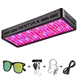 BESTVA DC Series 2000W LED Grow Light Full Spectrum Grow Lamp for Greenhouse Hydroponic Indoor Plants Veg and Flower (Color: Black, Tamaño: 2000W)