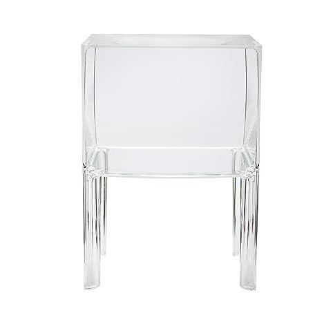 Ghost Buster Kommode schmal, 1 Fach / glasklar transparent