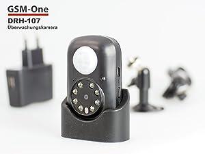 Auto Video  GSMOne DRH107, inkl. 4 GB MicroSD Karte,Überwachung  BaumarktÜberprüfung und Beschreibung