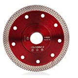 4.5Inch Supper Thin Diamond Tile Blade for Cutting Porcelain Tiles Marbles (Tamaño: 4.5 inch)