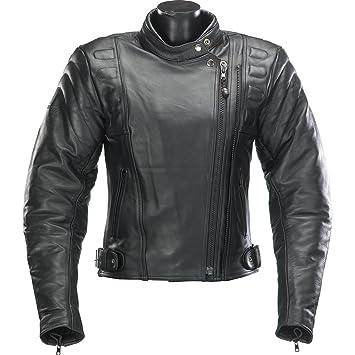 Spada Ladies Leather Jackets Black Road