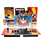 PinPle Arcade Game Console Pandora's Box 4S Built-in 815 Classic Games Ultra Slim Metal 2 Players Double Joystick Botton Console with HDMI & VGA for HDTV / Monitor / Projector / PC [Plug & Play] (Color: Arcade Game Console)