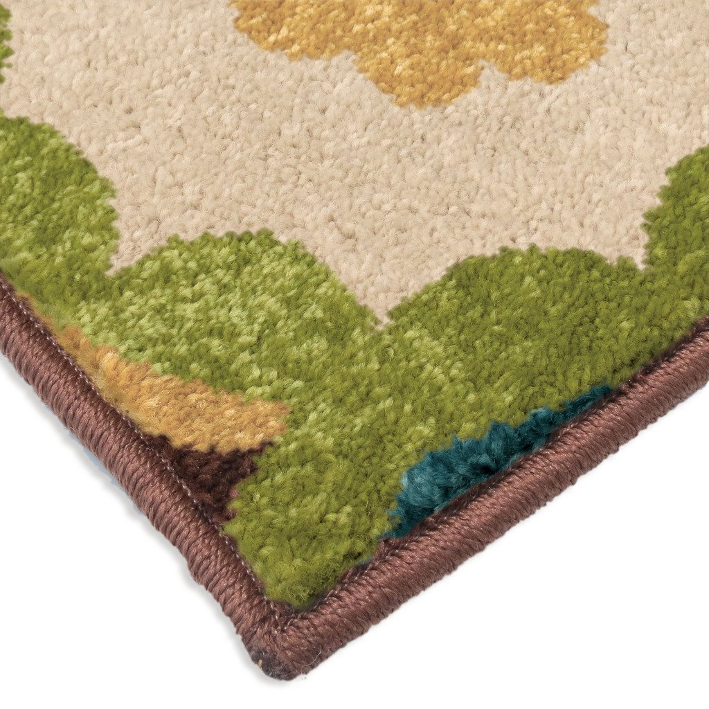 "Orian Rugs Indoor/Outdoor Paisley Monteray Multi Area Rug (52"" x 76"")"