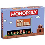 Monopoly: Super Mario Bros Collector's Edition Board Game Exclusive Version