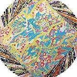 友禅和紙 15x15cm オリジナルセット Y00168 40枚
