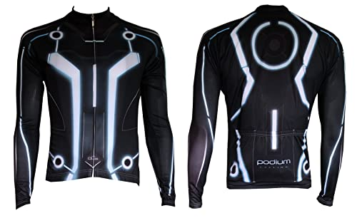 long-sleeved tron cycling jersey