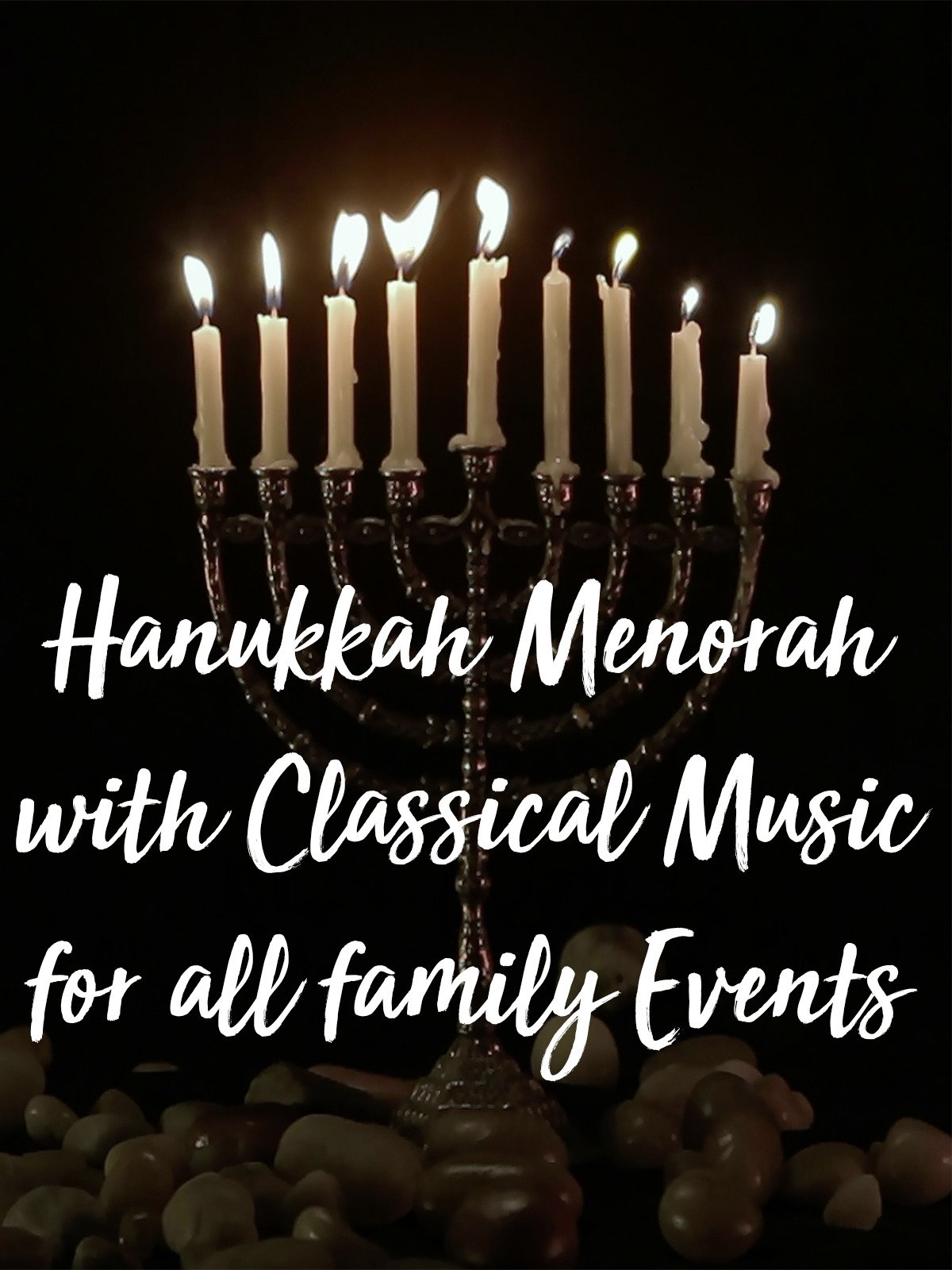 Hanukkah Menorah with Classical Music for all family Events