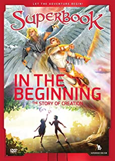 Book Cover: Superbook. In the beginning, the story of creation