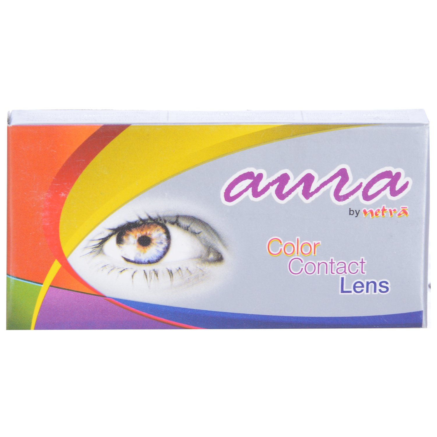 Jacomo Aura Monthly Color Contact Lenses Grey ,Power 3.75
