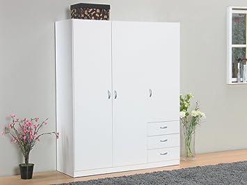 3trg. Enfoque armario para casa de muñecas armario puertas correderas armario blanco
