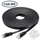 GOWOS Cat6 CMR Non-Boot Patch Cable 1-Feet - Gray