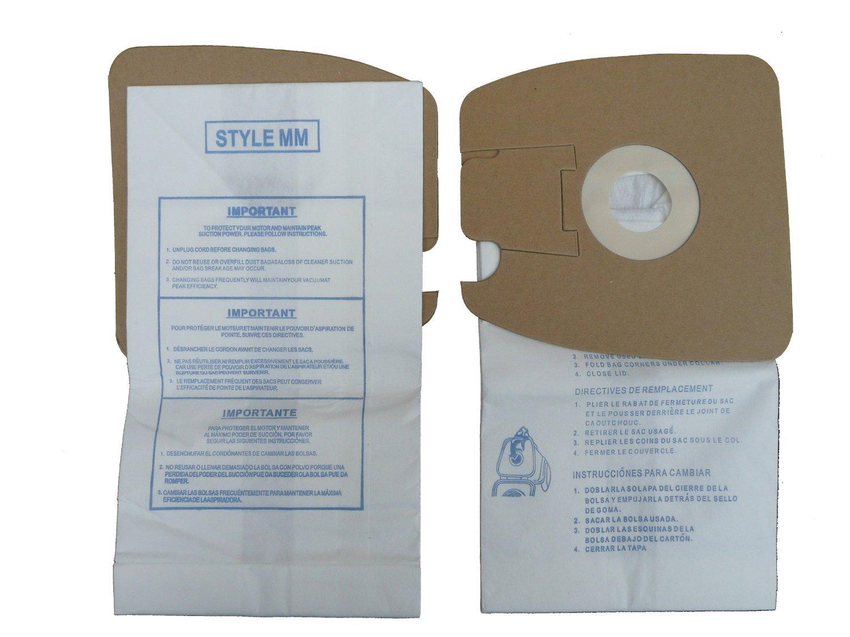 Eureka Part 60295c Style Mm Vacuum Bag Replacement For