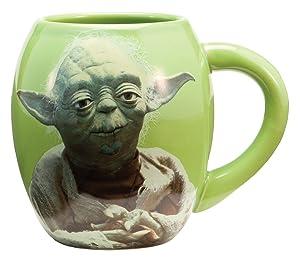 Joy Toy 99068 - Star Wars - Yoda - Taza de cerámica 11 cm (532 ml)   Comentarios y más información