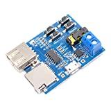 Willwin TF Card U Disk MP3 Format Decoder Board Audio Decoding Module With Amplifier