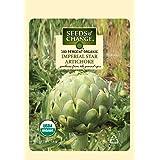 Seeds of Change S21052 Certified Organic Artichoke Imperial Star