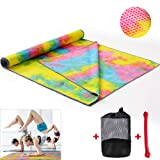 Getfitsoo Yoga Towel Mat Non Slip 72