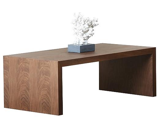 Abbyson Living Quincy Coffee Table, Medium, Walnut