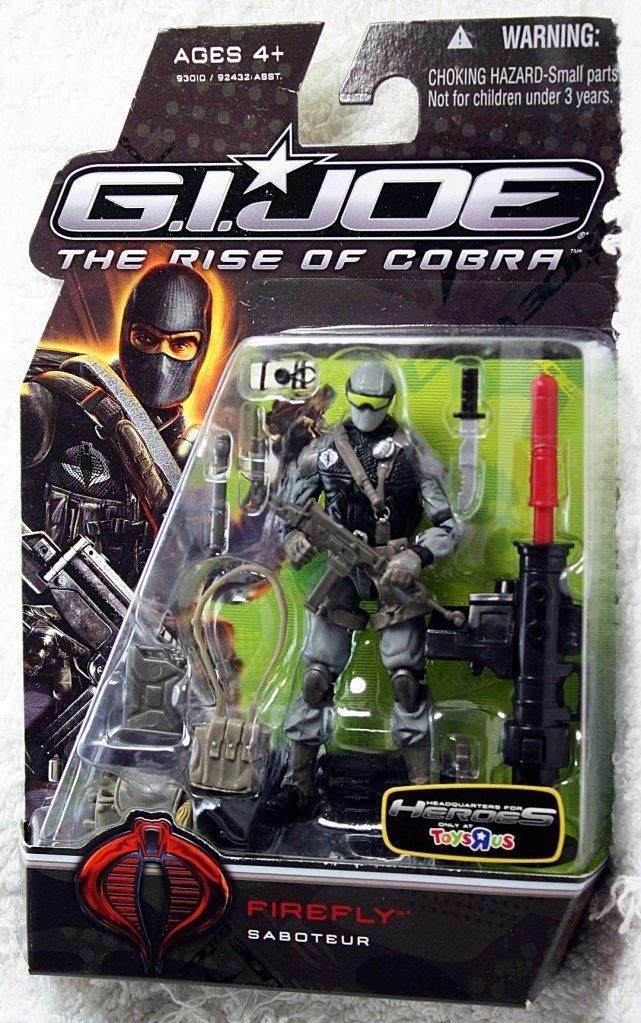 G.I. Joe Firefly Saboteur TRU Exclusive – The Rise of Cobra – Actionfigur von Hasbro als Weihnachtsgeschenk