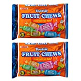Tootsie Fruit Chews Assorted Fruit Rolls -- Pack of 2 Bags (11.66 Oz Total) (Pack of 2) (Color: tootsie fruit chews, Tamaño: Pack of 2)
