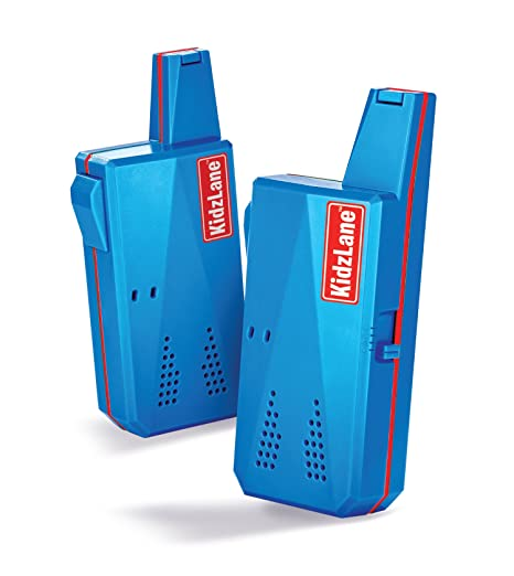 Kidzlane - Talkie-walkie enfant - 3 km de portée - 3 canaux d'émission