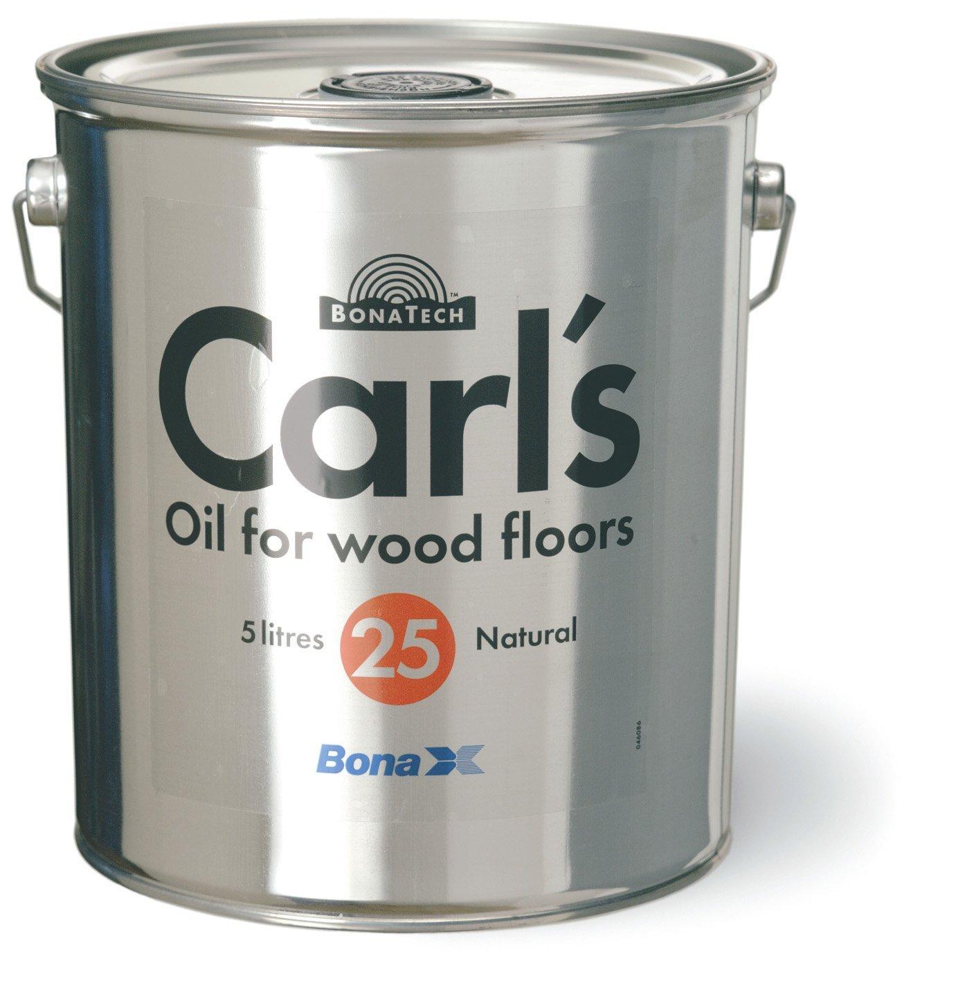 Parkett Öl Carl`s 25 Bona 5 Liter  BaumarktÜberprüfung und Beschreibung