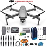 DJI Mavic 2 Zoom Drone Quadcopter with 24-48mm Optical Zoom Camera Bundle Kit with Must Have Accessories