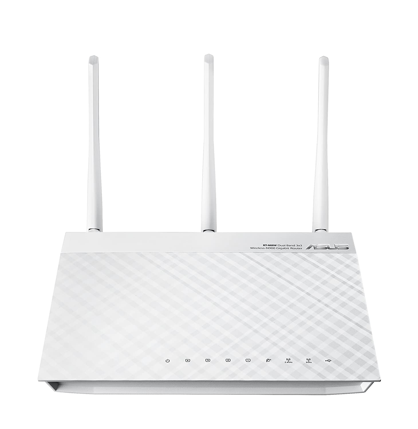 ASUS RT-N66W Dual-Band Wireless-N900 Gigabit Router (White Version) $100
