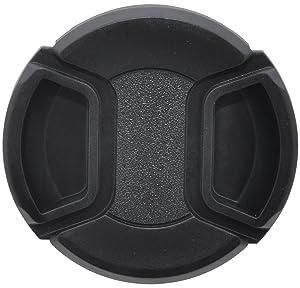 49mm Universal Snap-On Lens Cap for Panasonic HC-WXF991K, HC-VX981K, HC-X900/M, HC-X920K Camcorder (Tamaño: Lens Cap)