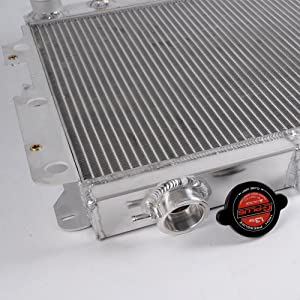 3 Row Core Full Aluminum Racing Radiator Replacement For Jeep ...