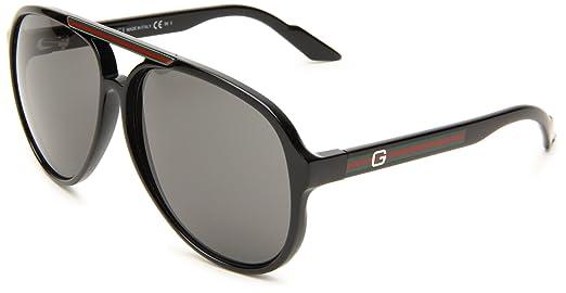 Gucci 1627/S古驰飞行员双桥太阳镜$149美元(32%off)