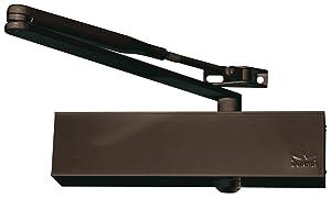 DORMA 17200103 BasiSaturn TS 73V Türschließer mit Standartgestänge, Größe 24, für Feuer und Rachschutztüren bis 1100 mm Flügelbreite, geprüft nach DIN EN 1154A, braun  BaumarktBewertungen und Beschreibung