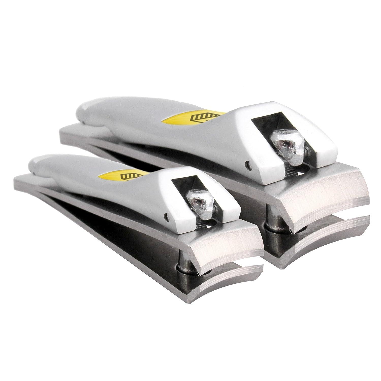 Harperton Klipit Nail Clipper Set - Fingernail + Toenail - Stainless Steel