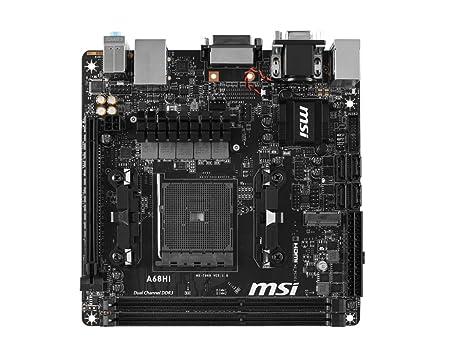 MSI A68HI AMD A68H Socket FM2+ 1 x Ethernet 1 x HDMI 2 x USB 2.0 2 x USB 3.0