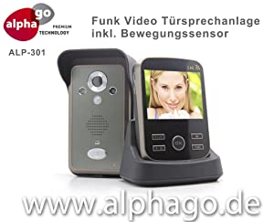 Funk Video Türsprechanlage ALP301  Drahtlose  Rezension