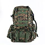 WXBUY Large Outdoor Molle Assault Tactical Backpack Military Rucksack Backpack Bag USA