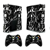 Designer Skin for XBOX 360 SLIM System & Remote Controllers -Reaper