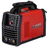 Amico SF-200A, 200 Amp Stick ARC DC Inverter Welder, 120/240V Dual Voltage Welding, E6010 E6011 E6013 E7014 E7018 etc. (Color: Red, Tamaño: Full Size)