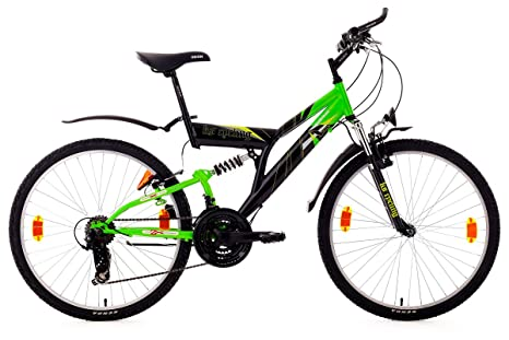 VTT ATB 26'' Nightmare noir TC 46 cm KS Cycling