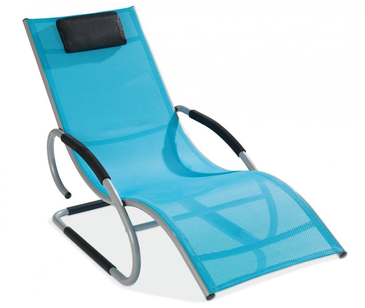 Textilliege Gartenliege Alu / Blau Edie 2 online bestellen